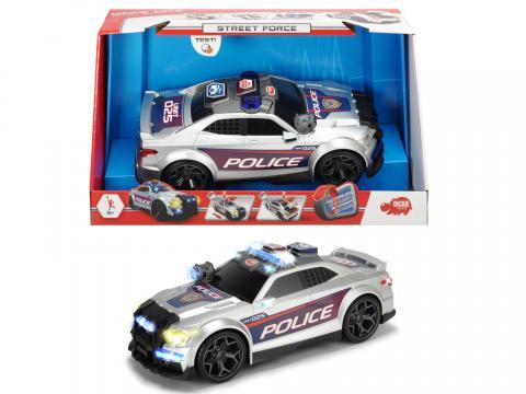 Action Series Policejní auto Street Force 33cm