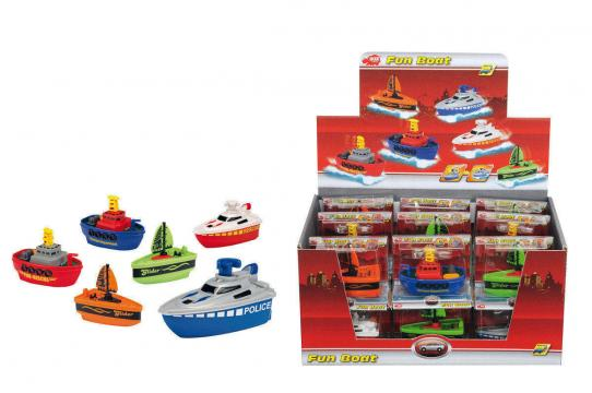 Natahovací lodička Fun Boat 7cm