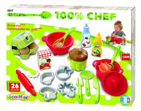 Ecoiffier Velká sada kuchyňského příslušenství