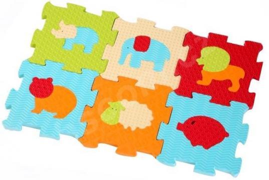 Puzzle pěnové zvířátka
