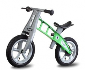 Odrážedlo First Bike Street GREEN s brzdou