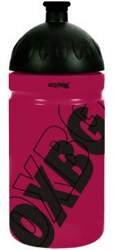 KARTON P+P Láhev na pití 500 ml - BLACK LINE pink