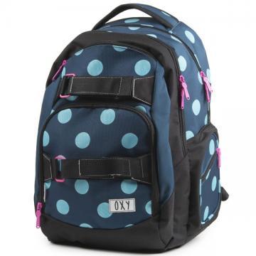 Studentský batoh OXY Style DOTS + dárek zdarma
