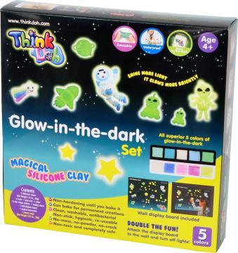 Think Doh - Modelína svítící ve tmě