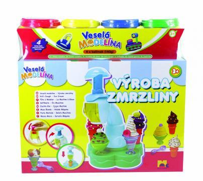 Výroba zmrzliny s náhradní modelínou
