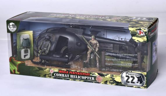 Vojenská helikoptéra
