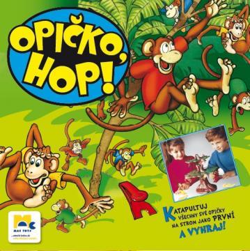 Opičko, HOP!