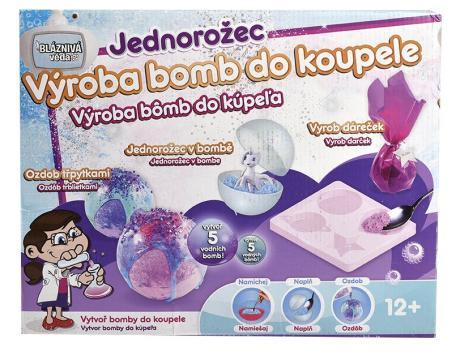 Výroba bomb do koupele