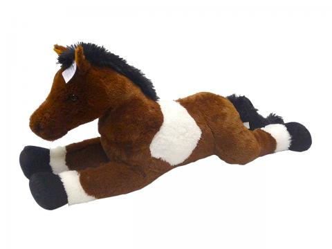 Plyšový kůň 80 cm
