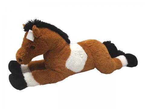 Kůň bílo/hnědý 80 cm