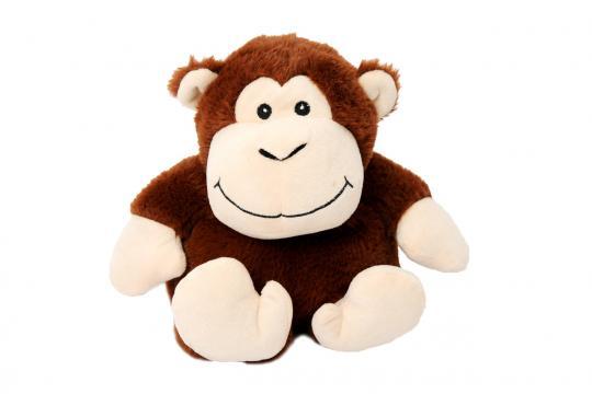 Nahřívací zvířátko opička