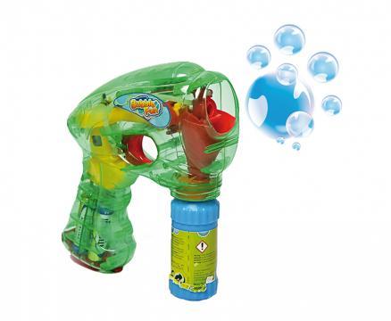 Svítící bublifuková pistole