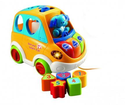 Mluvící auto Vtech oranžové