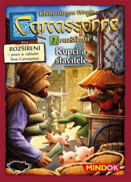 Carcassonne  2 Kupci a stavitelé
