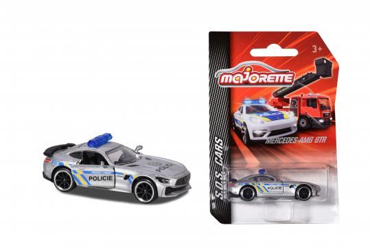 Auto policejní kovové