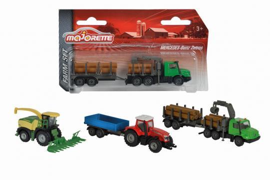 Farmářské vozidlo kovové Farm Set, více druhů