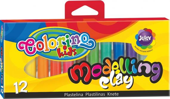 Colorino Modelovací hmota, 12 barev