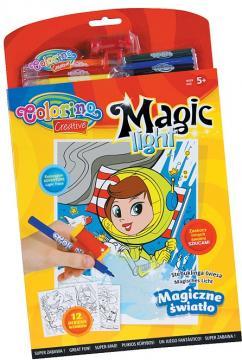 Colorino Omalovánky Magic Light, 12 motivů