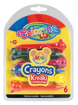 Colorino Voskovky Animals 6 barev