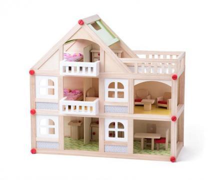 Dvoupatrový domeček s balkónem