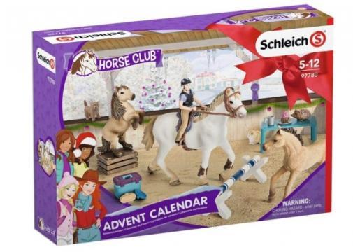 Adventní kalendář Schleich 2018 - Koně