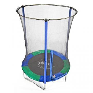 Dětská trampolina s ochrannou sítí