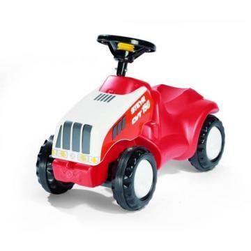 STEYR CVT 150 traktor odstrkovadlo červený