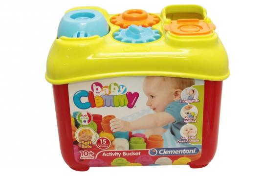 Clemmy baby - Aktivní kyblík s prostrkávacími tvary