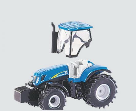 SIKU Farmer - traktor New Holland T7070 s cisternou