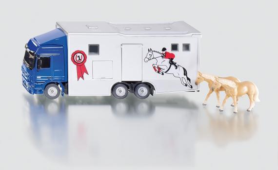 SIKU Super Transporter pro přepravu koní