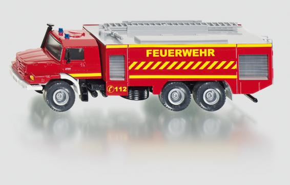 SIKU Super Mercedes Zetros Fire Engine
