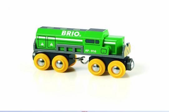 Dopravní lokomotiva zelená