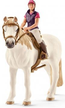 Rekreační jezdkyně na koni