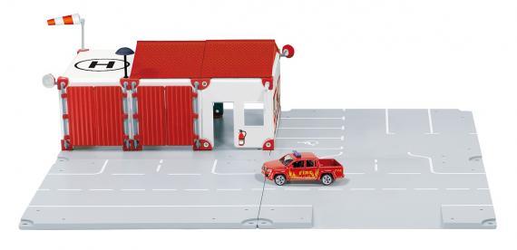 SIKU World - Set požární stanice