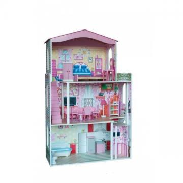 Velký domeček pro panenky s nábytkem