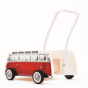 Chodítko autobus T1, červený