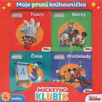 Mickeyho klubík Moje první knihovnička