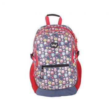 Školní batoh Happy Owls + dárek zdarma