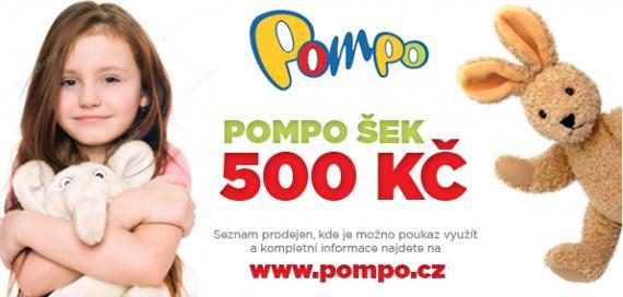 Dárkový poukaz Pompo 500 Kč