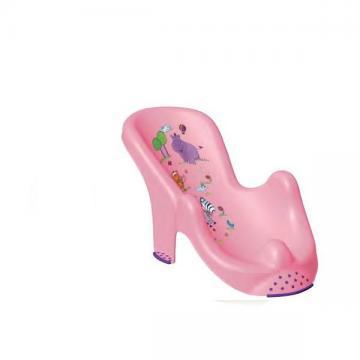 Růžové lehátko Hippo
