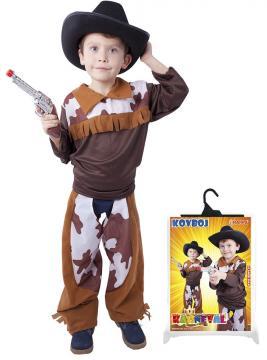 Karnevalový kostým kovboj, velikost S