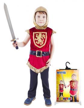 Karnevalový kostým rytíř s erbem, vel. S