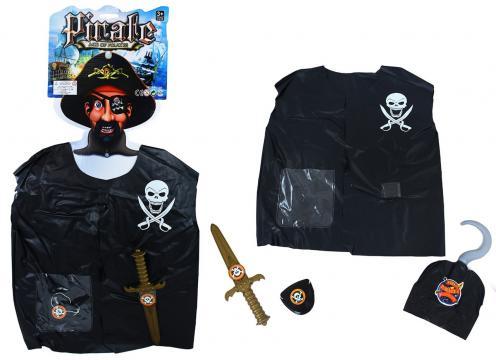 Sada vesta pirátská s přislušentsvím dětská