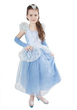 Karnevalový kostým princezna Modrá hvězda, velikost M