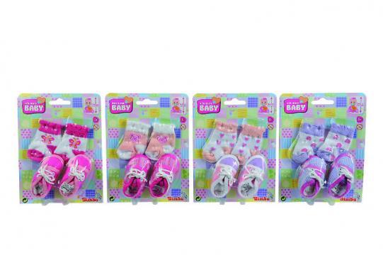 New Born Baby - Ponožky a botičky pro panenku