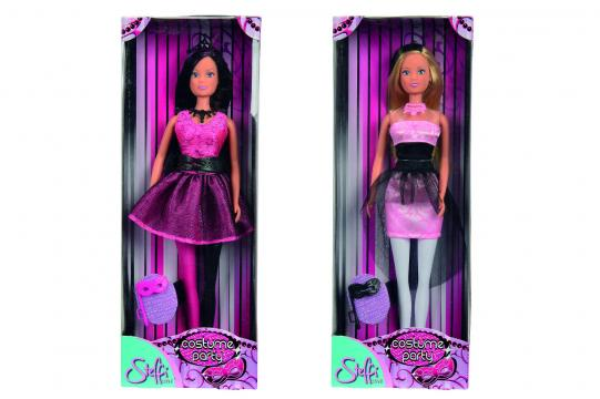 Panenka Steffi v kostýmu, 2 druhy