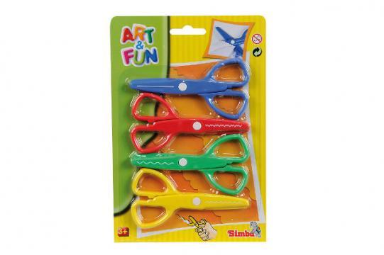 A&F  Nůžky sada 4 ks