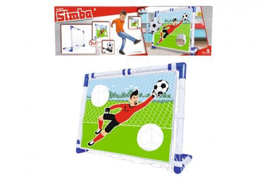 Fotbalová branka 2 v 1