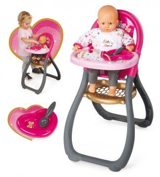 Jídelní židlička pro panenku