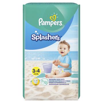 Pampers Splashers, 12 Plenkových Kalhotek